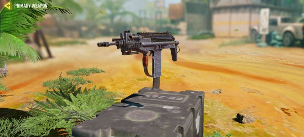 best smg for cod mobile