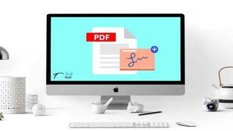 How to add text, signature to PDF without taking print out or converting it ?